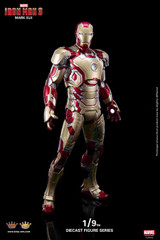 King Arts 1/9 Diecast Figure Series DFS001 Iron Man Mark 42 Action Figure