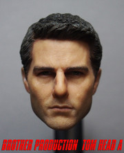 Brother Production Custom 1/6 Scale Head Sculpt-Tom Cruise Ver  A
