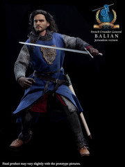 Pangaea Toy 1/6 French Crusader General - Balian action figure (Jerusalem Version)