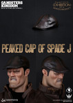 DAMTOYS:1/6 Gangsters Kingdom Peaked Cap of Spade J CICF2015 Limited