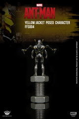 King Arts Format Figure Series FFS004 Marvel Ant-Man Yellow Jacket Posed character