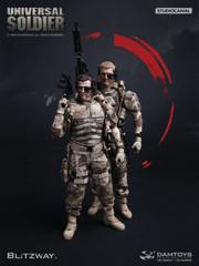 Damtoys x Blitzway 1/6 UNIVERSAL SOLDIER DMS001/DMS002 Double Set