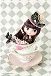 "Takara 8"" NEO CWC Middie Blythe Doll Mary Ann Tea Parties in Wonderland"