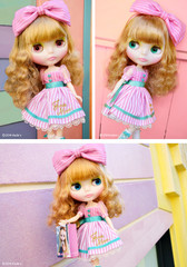 "Takara CWC 12"" Exclusive 10th Anniversary Neo Blythe Doll Junie Moonie Cutie"