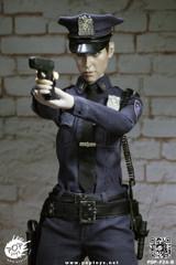 POPTOYS F24B 1/6 New York Police Policewoman NYP Action figure Set