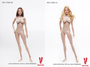VERYCOOL 1:6 Scale Female Large Bust Body Version 3.0+ Blonde/Brown Hair Head Sculpt