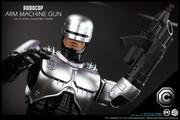 CGL TOYS 1/6 Scale PE01 Robocop Arm machine gun