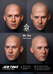 Ace Toyz ATH-004 Mr. Vin 1/6 figure head sculpt