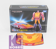 Takara Tomy Transformers Masterpiece MP-28 Hot Rod Rodimus + Limited Coin