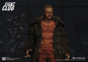 BLITZWAY Fight Club  BW-FC00325 Fur Coat Ver Tyler Durden 1/6 action figure