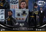 Hot Toys MMS294 Batman Returns:1/6th scale Batman & Bruce Wayne Collectible Figures Set
