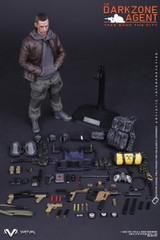 VTS TOYS VM-017 1/6 The Darkzone Agent Action Figure
