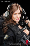 VeryCool VCF-2029 1/6 Female Shooter Action Figure Black Verion