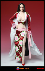 SUPER DUCK SET005 1/6 Scale Snake Ji Costume + Head Sculpt Set