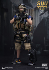 DAMTOYS 78034 1/6 SDU (Special Duties Unit) ASSAULT TEAM LEADER ACTION FIGURE