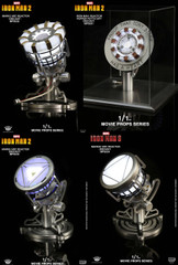 King Arts 1/1 Movie Props Series  1/1 Iron Man Arc Reactor - 4 model