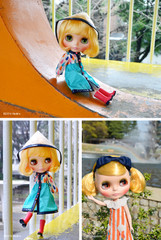 "Takara CWC 12"" Neo Blythe Doll Playful Raindrops"