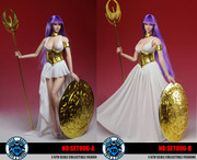 SUPER DUCK SET006 1/6 Athena Head Sculpt + Costume