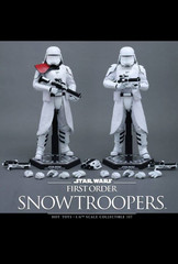 Hot Toys – MMS323 – Star Wars: The Force Awakens - 1/6th scale First Order Snowtroopers Collectible Figures Set