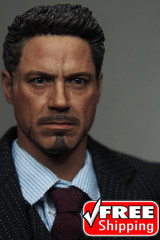 Supreme 1/6 Scale Tony Head sculpt Normal Version TS004