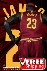 Xensation Collectible CL16  1/6 Scale James 23 Jersey Set