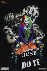 WOLFING WK89008A 1/6 Female Joker  Action Figure