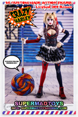 SUPERMAD TOYS Crazy Harley 1:6 custom made action figure