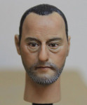 1/6 Action Figure Head Play Head Sculpt-Jean Reno Leon the Professional