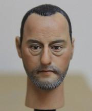 1/6 Action Figure Head Play Head Sculpt-Jean Reno Leon the Professional