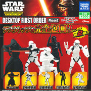 Takara Tomy Star Wars The Force Awakens First Order Stormtrooper Gashapon figure x 5 Phase 2