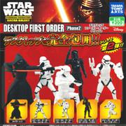 Takara Tomy Star Wars The Force Awakens First Order Stormtrooper Gashapon figure x 5 Phase 2