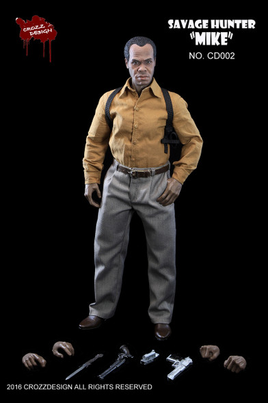 1/6 Lethal weapon danny Glover action figure