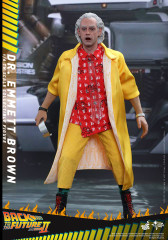 Hot Toys Back to The Future Part II - 1/6 scale Dr. Emmett Brown ACGHK 2016 Special Edition