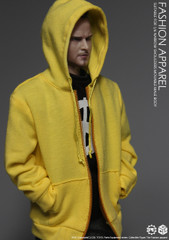 CGL TOYS PE05 1/6 Yellow Hoodie Fashion Apparel Set