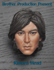 Brother Production 1/6 Scale Head Sculpt - Takuya Kimura