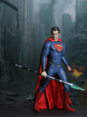 Custom 1/6 Scale 33cm Glow Up Kryptonite Spear
