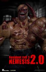World Box Resident Evil 3 Boss 1/6 Nemesis 2.0 action figure