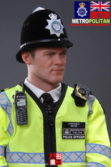 MODELING TOYS 1/6 MILITARY SERIES : BRITISH METROPOLITAN POLICE SERVICE (MPS) FIGURE