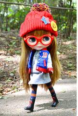 "Takara CWC 12"" Neo Blythe Doll Varsity Dean"