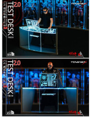 TOYS BOX 1/6 Scale Tony Stark Workshop Scene Desk LED Lighting 2.0