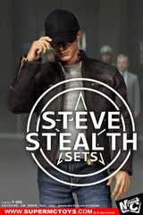 SUPERMCTOYS F-065 1/6  Scale Steve Stealth Costume Sets
