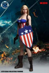 SUPER DUCK C019 1/6 Scale Captain Female Costume Set