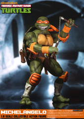 DreamEX  1/6TH Ninja Turtles- Michelangelo/Mikey Action Figure
