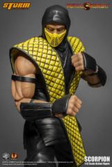 Storm Collectibles Mortal Kombat Klassic Vs. Series 1/12 Scale Action Figure - Scorpion