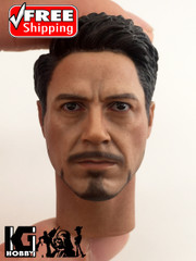 Supreme 1/6 Scale Tony Head sculpt - Civil War