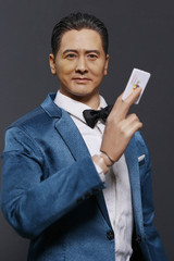 Modular Art 1/6 MA016 God of Gamblers head Sculpt Chow Yun Fat