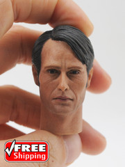 Custom 1/6 Action Figure Head Sculpt-Mads
