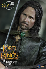 Asmus Toys LOTR008S The Lord of the Rings Series: Aragorn (Slim Version) 1/6 Action Figure