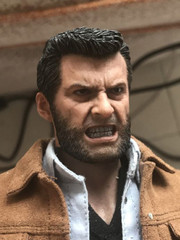 Burning Soul BS009  1/6 Scale Angry Hugh Head Sculpt