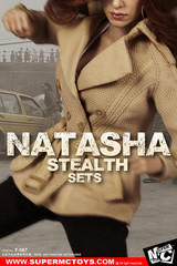 SuperMCTOYS F067 1/6 Scale Natasha Stealth Costume Sets